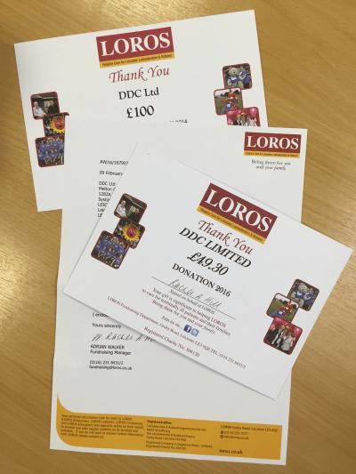 LOROS Certificates